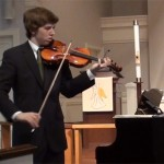 Violin recital May 7, 2011